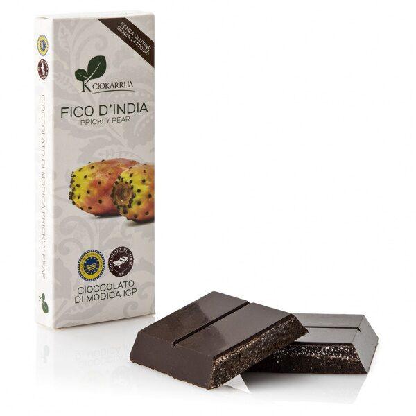 Ciokarrua cioccolato Modica fico d'India