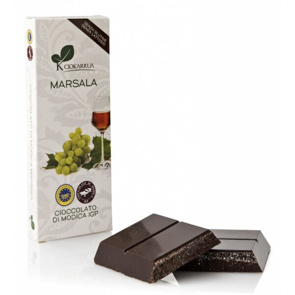 Ciokarrua cioccolato modica marsala